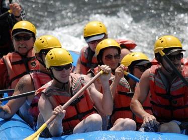 Corporate Rafting Trip
