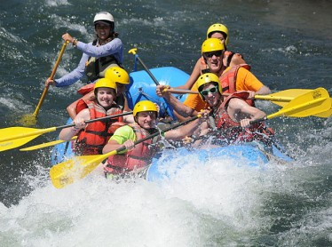 Whitewater Rafting on the South Fork American River...