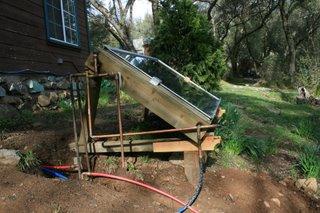 28,750 BTU Solar Hot Water Heater at MaLode