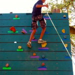 An accomplished climber reaches the top of our
