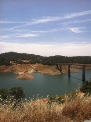 The Stanislaus River disappeared under the New Melones Reservoir destroying the West's most popular whitewater river rafting run.