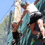 High Ropes: Climbing Wall Element