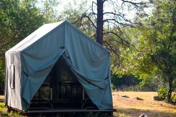 Exceptionnel 8 Person Canvas Cabin Tent