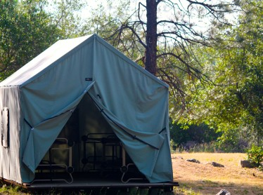 Canvas Cabin Tent: G (this is an example of an 8 person Canvas Cabin Tent)