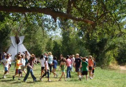 low ropes - outdoor education program