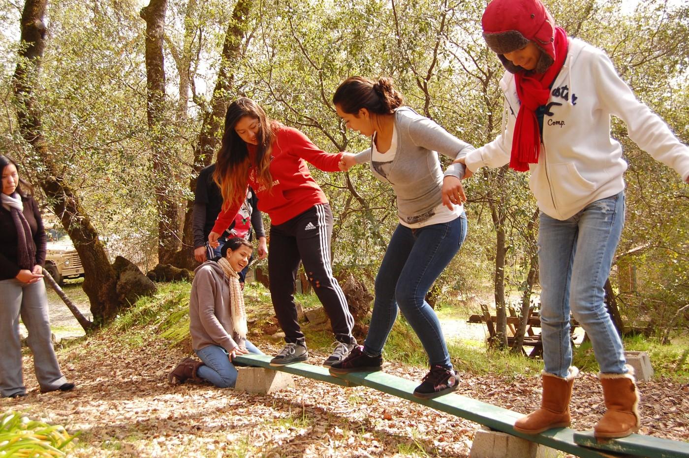 Group Team Building Activities High School