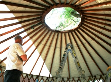 Yurts at Mother Lode