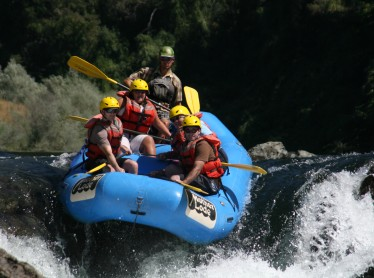 Rafting the Middle Fork