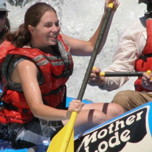 whitewater rafting with Mother Lode River Center