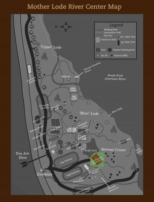 Retreat House Map