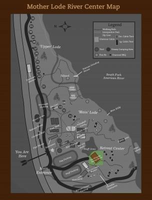 Retreat House Map