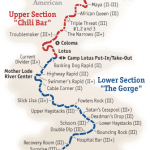 South Fork American River Map