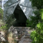 private tent cabin at Mother Lode River Center