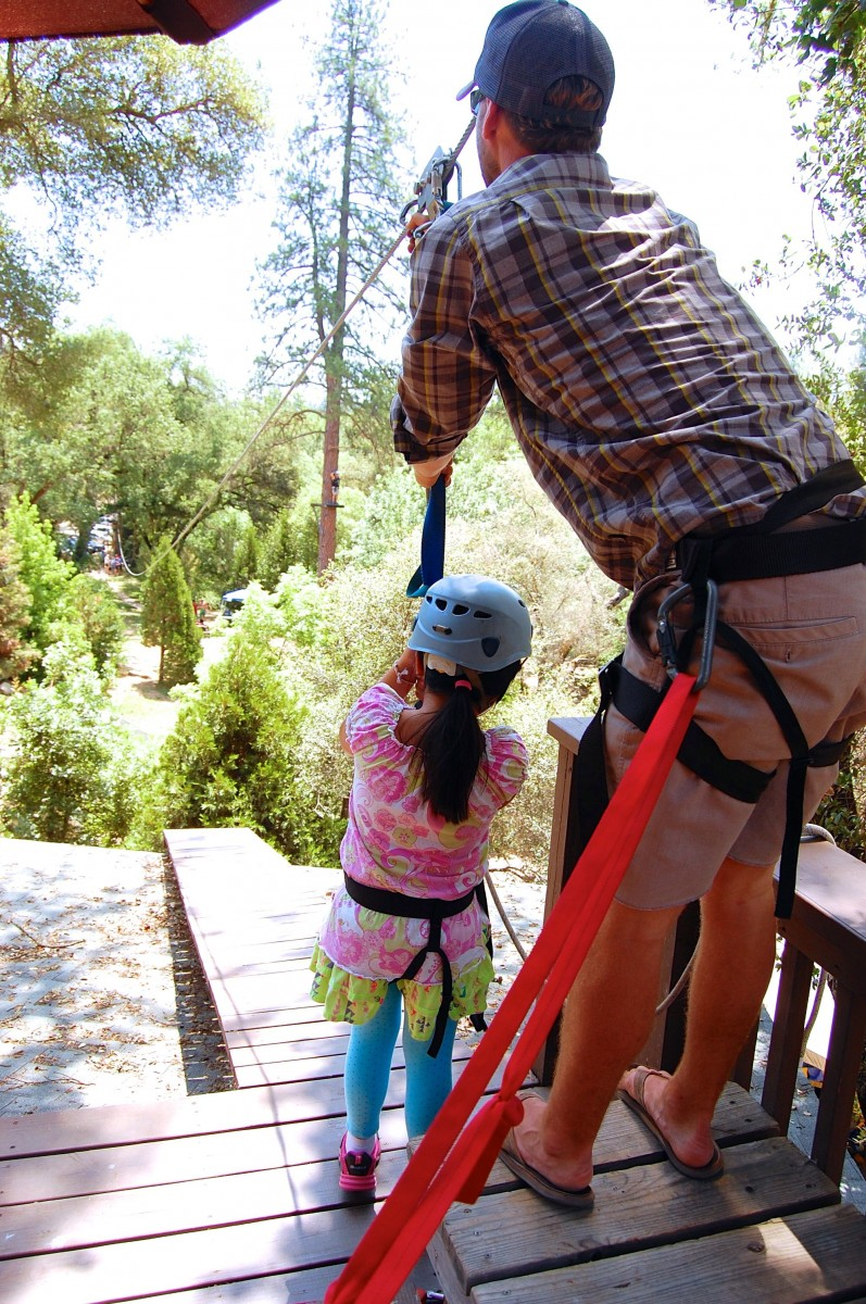 Release Of Liability Ca >> High Elements - On Belay with Mother Lode River Center